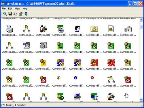 دانلود برنامه IconsExtract v1.46