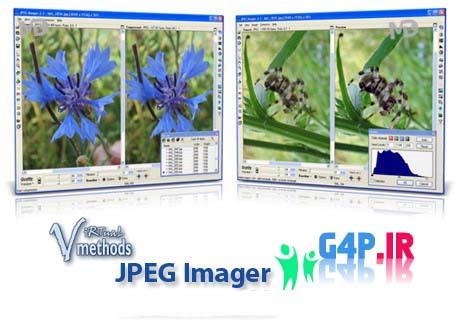دانلود نرم افزار کاهش حجم تصاویر بدون افت کیفیت JPEG Imager v2.4.6.263 پرتابل