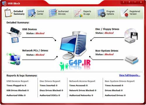 نرم افزار بستن پورت های یو اس بی – Newsoftwares USB Block