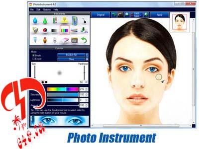 دانلود نرم افزار روتوش و بازسازی حرفه ای تصاویر – PhotoInstrument 5.6