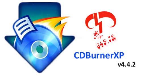 دانلود نرم افزار رایت آسان داده ها – CDBurnerXP 4.4.2.3442