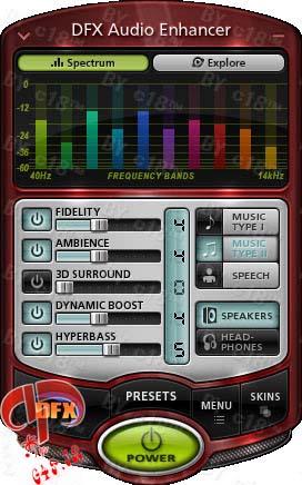 دانلود نرم افزار افزایش کیفیت آهنگ – DFX Audio Enhancer 11.0.16