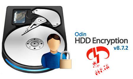 دانلود نرم افزار قفل کردن هارد و درایوها – Odin HDD Encryption 8.7.2