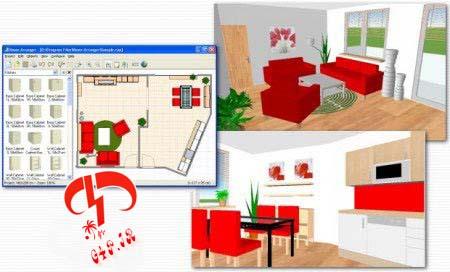 دانلود نرم افزار طراحی دکوراسیون منزل – Room Arranger 7.0.5.289