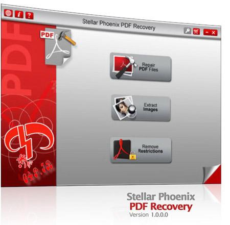 دانلود نرم افزار بازیابی اسناد PDF آسیب دیده – Stellar Phoenix PDF Recovery