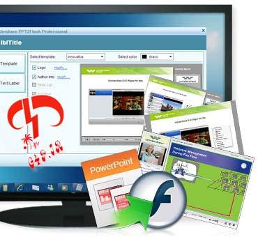 دانلود نرم افزار مبدل Powerpoint به فلش – Wondershare PPT2Flash Professional