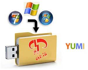 دانلود نرم افزار بوت و نصب سیستم عامل از طریق USB با YUMI v0.0.7.0